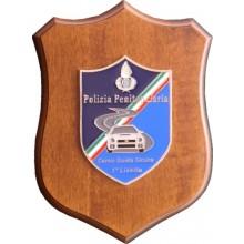 Crest Polizia Penitenziaria  Corso Guida Sicuta 1 Livello Art.NSD-PP2