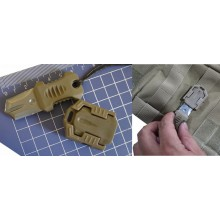 Coltello Mini con Aggancio per Sistema Molle EDC Gear Mini Beetle Art.01101