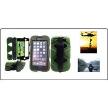 CUSTODIA ANTISHOCK - ANTIACQUA PER IPHONE 6 colore Verde o Nera Special Operations Art.6G