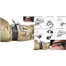 Edc di Primo Soccorso Combattimento Tattico Applicazione Laccio Emostatico all'Aperto Medica Laccio Emostatico  Tourniquette Art.EUMAR-L