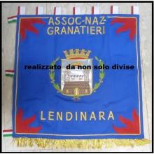 Confalone - Labaro Ricamato a mano Richiedi Art.NSD