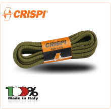 Lacci Verdi Neri Marroni per Anfibi e Calzature CRISPI® Art.900500