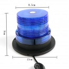 Lampeggiante Magnetico Professionale Strobo CRION DC12V Polizia Vigilanza Sicurezza Emergenza Art.LT214