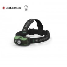 Torcia MH8 Frontale Professionale Verde 600 lm USB Ricaricabile Led Lenser Caccia Pesca Soft Air Art. 500951