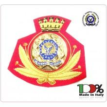 Ricamo Canottiglia Berretto Ufficiali A.E.O.P. AEOP Associazione Europea operatori Polizia Fondo Rosso Art.NSD-08
