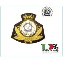 Ricamo Canottiglia Berretto Ufficiali Associazione europea Operatori Polizia A.E.O.P. NERO Art.NSD-04