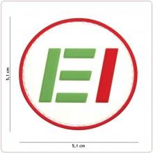 Toppa 3D PVC EI Esercito Italiano Tridimensionale con Velcro Art.444130-5463