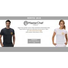 T-shirt Unisex Chef Master Chef Masterchef Originale Siggi Horeca Bianca o Nera  Art.26MA0414