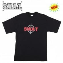 T-Shirt Maglia Maglietta Girocollo Con Stampa Frontale S.W.A.T.  Corpi Speciali Art.133393