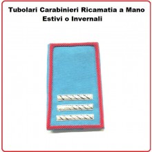 Gradi Tubolari Carabinieri Ricamati a Mano Canuttiglia New Maresciallo Capo Art.CC-CAN-6
