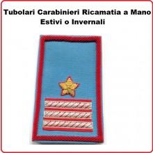 Gradi Tubolari Carabinieri Ricamati a Mano Canuttiglia  New Maresciallo Luogotenente Art.CC-CAN-3