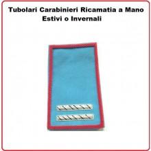 Gradi Tubolari Carabinieri Ricamati a Mano Canuttiglia New Maresciallo Ordinario Art.CC-CAN-5