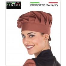 Cappello Josè Cuoco Chef Professionale Pangea Mattone 100% Italia Art.JO0600
