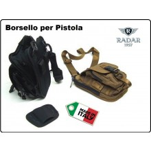 Marsupio Borsa Borsello Monospalla con Fondina Interna Trasporto Armi Per Polizia Carabinieri G.di F. Vigilanza Radar 1957 Italia Art.5115/2801