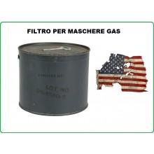 Filtro Nuovo Per Maschere Antigas Anti Gas Americana USGI M11 Art.91650510