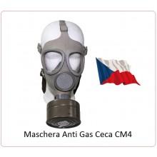 Maschera Militare Antigas Anti Gas Originale Militare Ceca Modello CM4 CM4 MFH Art.627622