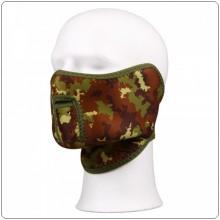 Maschera In Neoprene Vegetata Militare Softair Protezione Viso ROYAL Art.04508