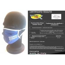 Mascherina Protettiva Modello Adulto Specifica GPG IPS Guardia Particolare Giurata Incaricata di Pubblico Servizio Lavabile 20 Volte COVID-19 Art. PM-GPG
