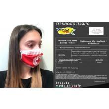 Mascherina Protettiva Modello Adulto o Bambino Specifica C.R.I. Croce Rossa Italiana CRI Lavabile 20 Volte COVID-19 Art. PM-CRI1