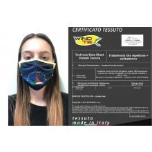 Mascherina Protettiva Modello Adulto o Bambino Specifica Protezione Civile - Volontari e Nazionale Lavabile 20 Volte COVID-19 Art. PM-PP1