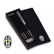 Set Matite e Temperino Calcio Juve  Originale Art. JU1328