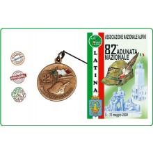 Medaglia Commemorativa Ricordo 82 Adunata Nazionale Alpini  9-10 Maggio 2009 LATINA  Art.ALPILA23