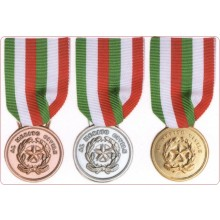 Medaglia Merito Civile Oro - Argento - Bronzo Art.FAV-34