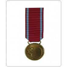 Medaglia con Nastrino Al MERITO per Lunga Attività di Paracadutismo Militare Oro Argento Bronzo Art.TUS-PARA