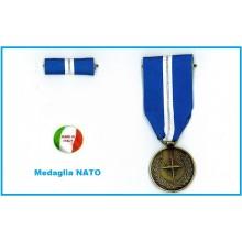 Medaglia Commemorativa NATO Articolo 5 Operazione Eagle Assist + Nastrino Art.NSD-122