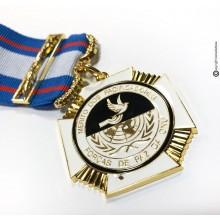 Medaglia Introvabile DOS PACIFICATORES ONU Organizzazione Nazioni Unite   Art.  DOS-P-ONU