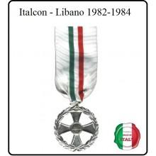 Medaglia Italcon - Libano 1982-1984 Art.MED-1