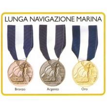 Medaglia Lunga Navigazione Marina  Art.Fav-31