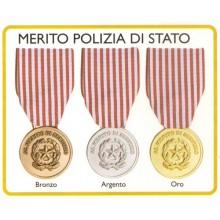 Medaglia Merito Polizia di Stato Art.Fav-33
