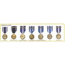 Medaglia Missioni NATO Esercito Carabinieri  Art.Fav-50