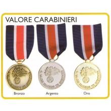 Medaglia Valore dell'Arma dei Carabinieri Carabinieri Art.FAV-24