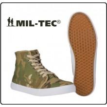 Scarpa Scarponcino Polacchino Army SNEAKER MULTITARN Modello Converse Art.12887049