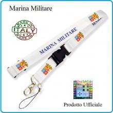 Portapass Portachiavi a Nastro Marina Militare Prodotto Ufficiale Originale Art.MM1013