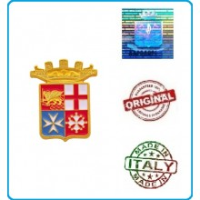 Magnete in Metallo Stemma Araldico Marina Militare Italiana Prodotto Ufficiale da Collezione Art. MM1015