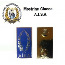 Mostrine Alamari da Colletto Giacca A.I.S.A.. Art.NSD-AISA-G