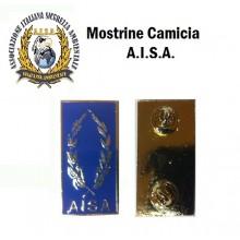Mostrine Alamari da Colletto Camicia A.I.S.A.. Art.NSD-AISA-C
