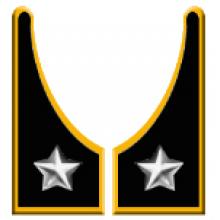 Mostrine Alamari Giacca o Camicia Esercito Italiano Artiglieria  Art.NSD-A-AR