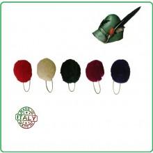 Nappina Verde Alpina per Berretto Alpino Esercito Italiano Art.NSD.A-V