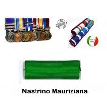 Nastrino Medaglia Mauriziana Senza Rapportino  Art.NSD-MAUS