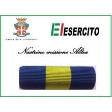 Nastrino Bombato Missione Althea  Art.NSD+CCA
