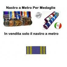 Nastro Militare a Metro Medaglia Al Valore Esercito Italiano  Art.N-MVEI