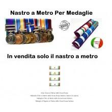 Nastro a Metro Al Merito croce Rossa Italaina Art.N-M-CRI