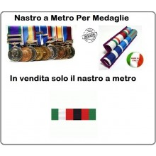 Nastro Militare a Metro Missione Italiana Afghanistan  Art.N-M-CRIA