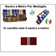 Nastro Militare a Metro Ordine Della Croce D'Italia   Art.N-RBR