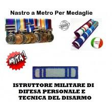 Nastrino Bombato Istruttore Militare Difesa Persoonale Tec. Disarmo  Art.CC-N3