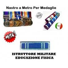 Nastrino Bombato Istruttore Militare Educazione Fisica  Art.CC-N1